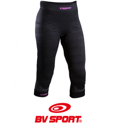 Cuissard de sport anti-cellulite KEEPFIT noir