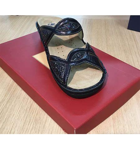Chaussures Hergos H366 Bleu