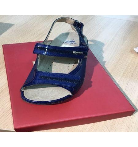 Chaussures Hergos H572 Bleu