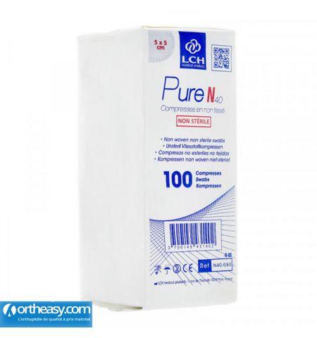 LCH Pure compresses non tissées et non stériles
