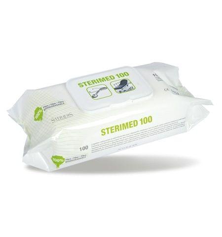 Lingettes nettoyantes et désinfectantes Sterimed